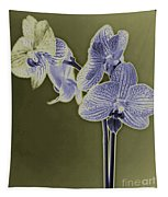 New Photographic Art Print For Sale Orchids 9 Tapestry