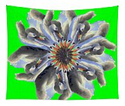 New Photographic Art Print For Sale Pop Art Swan Flower On Green Tapestry