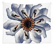 New Photographic Art Print For Sale Pop Art Swan Flower On White Tapestry