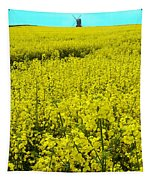 New Photographic Art Print For Sale Yellow English Fields 4 Tapestry