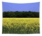 New Photographic Art Print For Sale Yellow English Fields Tapestry