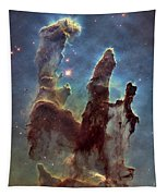 New Pillars Of Creation Hd Tall Tapestry