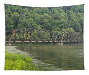 New River Scene 15 B Tapestry