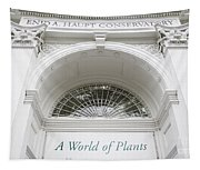 New York Botanical Garden Archway Columns Entrance Architecture Tapestry
