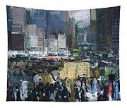 New York City 1900s Tapestry