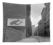 New York City Soho, 1942 Tapestry