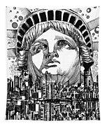 New York City Tribute Tapestry
