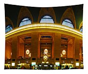 New York - Grand Central Station Tapestry