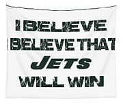 New York Jets I Believe Tapestry