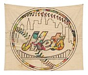 New York Mets Poster Vintage Tapestry