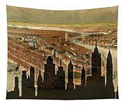 New York Old And New Tapestry