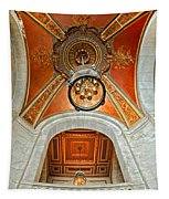 New York Public Library Ornate Ceiling Tapestry