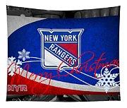 New York Rangers Christmas Tapestry