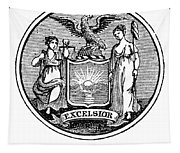 New York State Seal Tapestry