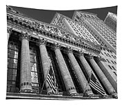 New York Stock Exchange Wall Street Nyse Bw Tapestry