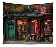 New York - Store - Greenwich Village - Sweet Life Cafe Tapestry