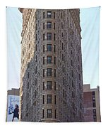 New York - The Flat Iron Building Tapestry