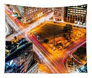 New York Traffic Tapestry