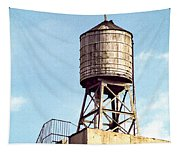New York Water Tower 1 - New York Scenes  Tapestry