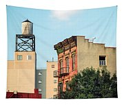New York Water Tower 3 Tapestry