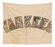 New York Yankees Poster Art Tapestry
