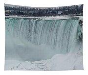 Niagara Falls Canada In Winter Tapestry