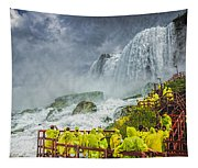 American Falls Niagara Cave Of The Winds Tapestry