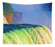 Niagara Falls In Abstract Tapestry