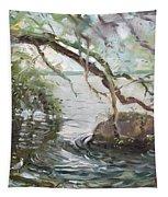 Niagara River Side Tapestry