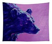 Night Bear Tapestry