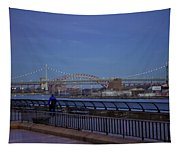 Night Falling Over The East River - Manhattan Tapestry