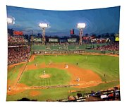 Night Fenway Pop Tapestry