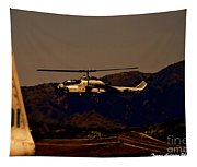 Night Mission Tapestry