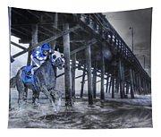 Night Run II Tapestry