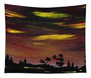 Night Scene Tapestry