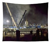 Night Time Frac Tapestry