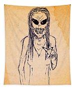 Nightmare Sketch Tapestry