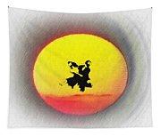 Ninja Duel In The Sun Tapestry
