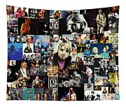 Nirvana Collage Tapestry