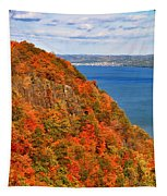 N.j. Palisades Awesome Autumn  Tapestry