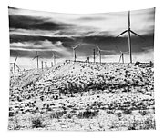 No Place Like Home 1 Bw Palm Springs Tapestry