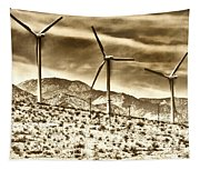 No Place Like Home 3 Palm Springs Tapestry