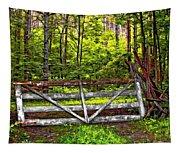 No Trespassing Tapestry