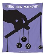 No009 My Being John Malkovich Minimal Movie Poster Tapestry