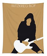 No020 My Ramones Minimal Music Poster Tapestry by Chungkong Art