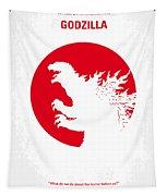 No029-2 My Godzilla 1954 Minimal Movie Poster.jpg Tapestry