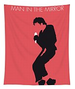 No032 My Michael Jackson Minimal Music Poster Tapestry