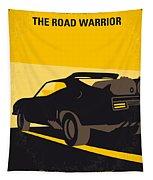 No051 My Mad Max 2 Road Warrior Minimal Movie Poster Tapestry