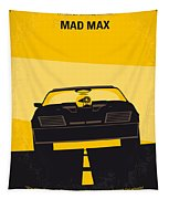 No051 My Mad Max Minimal Movie Poster Tapestry