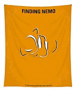 No054 My Nemo Minimal Movie Poster Tapestry by Chungkong Art